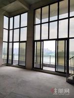 小区一套御景墅级全线江景楼中楼大观景阳台
