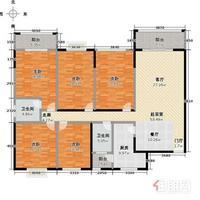五象新区 总部基地 豪华毛坯大五房 大赠送 单价低 位置佳