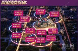 梦之岛生活广场+古城路商铺5至15平米+首付3W起+每月稳定收租