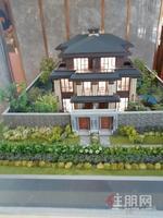 华夏院子(地铁口别墅)送4个车位 中式风格别墅,使用面积850平,230平私家花园