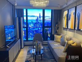 江南万达商圈 地铁口复式公寓  买一层送一层