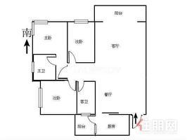 恒大新城 电梯大三房首付仅12万 免装修买下即入住读秀田小学