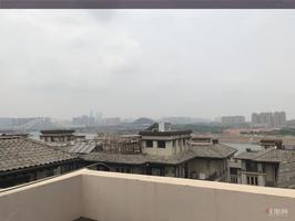 五象新区 阳光城翡丽湾 江景联排边套别墅,红本在手业主急售,前后花园