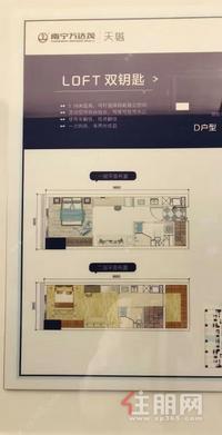 五象新区(万达茂天樾)万达茂商圈+ 可看江+5.08复式楼+滨江公园