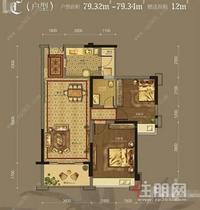 免双税·凤岭北豪宅小区美泉1612,豪装2房 148万,满五唯一,高性价比
