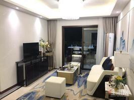 民族大学商圈,一号线地铁口,首付15万买3房,一线江景