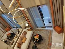 地铁口50m网红复式公寓+首付分期免息6万起+中梁柏仕公馆+买一层送一层