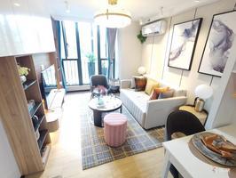 首付5万起,江南核心地铁口LOFT公寓,2号线旁,万达商圈