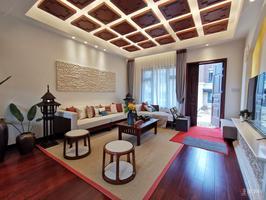 总价180万边套别墅,送负一层,双花园露台,四层别墅。