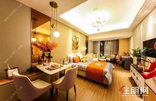 南宁城市中心五象总部基地产权公寓出售,买一层得两层