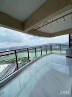 万达茂超高楼层一线江景两梯两户 全新装修未入住 送家具家电
