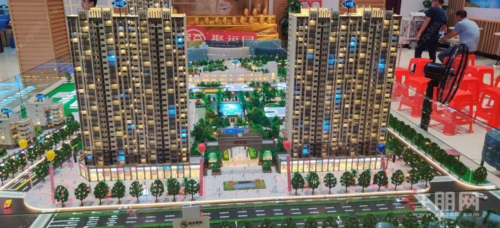 西二环旁 智能化滨江美宅首付5万 得4房自带农贸市场