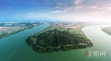 彰泰江景湾:幽静而秀美,近距离的靠近母亲河,欢腾拥抱