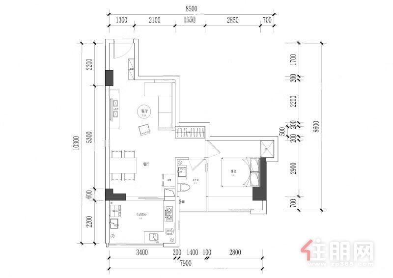 本人房子 海亚洲国际 低于市场价 1室1厅 100万元