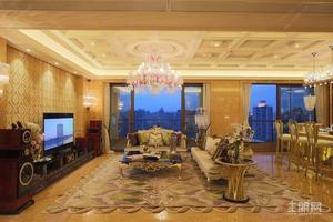 亚洲十大豪宅 凯旋1号 超大平层 一线江景 全新豪华装修