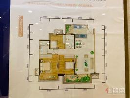 总部基地旁(光明城市)准现房精装三房首付26万,3号地铁