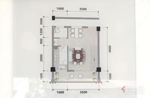 五象江景房,大单间,45平,电梯高层,可落户,彰泰城