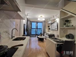 东葛路复式公寓(龙光玖珑华府)首付16万,层高5.09米,买一层得两层,近地铁口