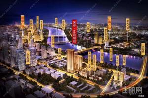 市中心朝阳商圈+准现房++性价比精装+地铁1.2号线+可公积金+一线江景