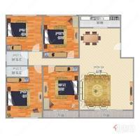 锦泰公馆,141平方,4房2厅2 卫,南北通透双阳台,装修好,就读名校