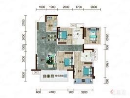 猎天翡翠书院 5946万 4室2厅2卫 普通装修,阔绰客厅,超大阳台,身份象征,价格堪比毛坯房