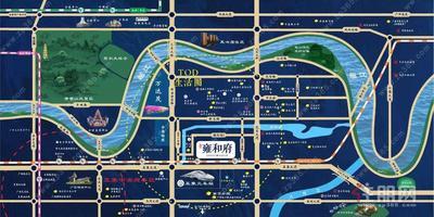 首付10万起买五象3房,五象火车站旁(东鼎雍和府),4号地铁口