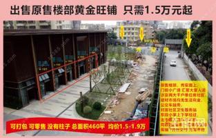 老城区秀安路,一楼商铺只要1.5万-1.9万