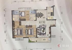 好位置!好房子!唐樾青山 125萬 3室2廳2衛 精裝修全新送家電!