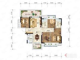 中南春風南岸 70萬 2室2廳1衛 普通裝修適合投資和人多的家庭