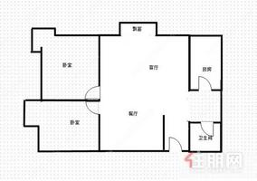 居家花园小区, 都市华庭 83万 3室2