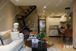 北湖老城區商品房6字頭loft復式樓,買一層得兩層34平米得2房,投資自住所選
