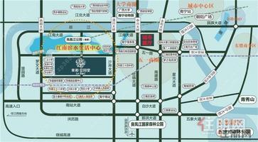 项目就在华南城旁边,开发商也是个大品牌,买房还是挺值得信赖的