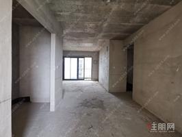 园林式小区,江景房 东方巴黎水岸毛坯双阳台4房2厅2卫出售!