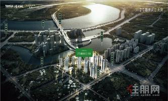 南宁五象总部基地·奥体中心CLD, 一线江景 双学区 地铁口物业