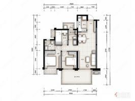 全新精裝三房,首付12萬,南向,地鐵口200米