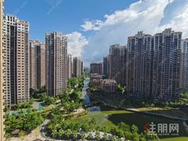 嘉和城,北岸舒適小區,93㎡湖景4房,高樓層,樓下即是水系跑道,急售77萬,北岸小區同戶型性價比高