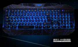 新贵GL800电竞有线游戏键盘