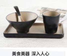 网红碗筷四件套