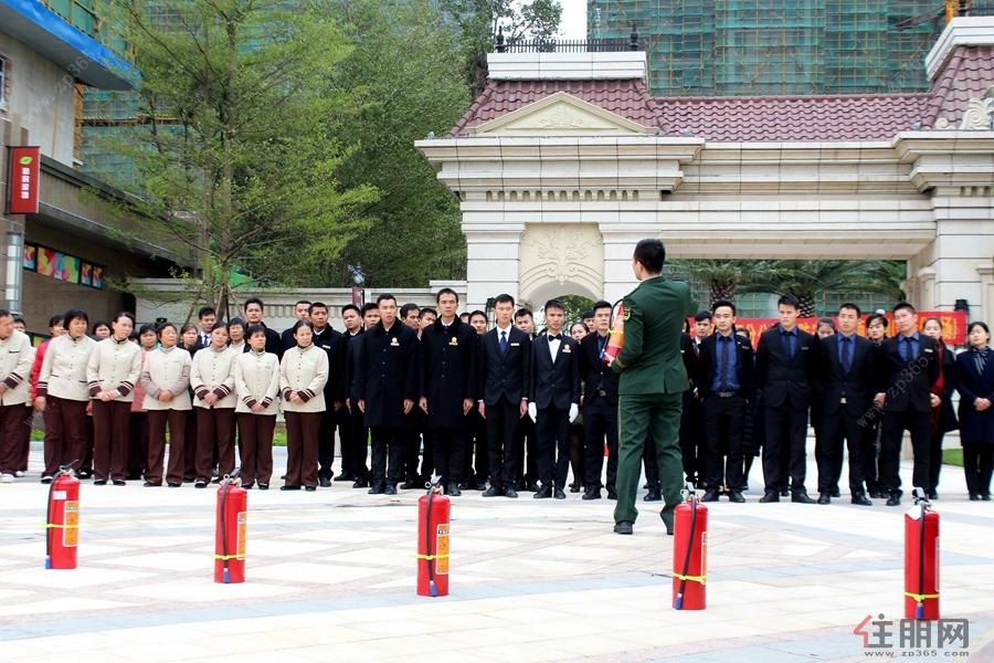 2017年恒大集团广西分公司消防安全专项培训在贵港恒大城成功举行
