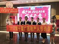 2017第十届广西地产人节青秀区巡游路线