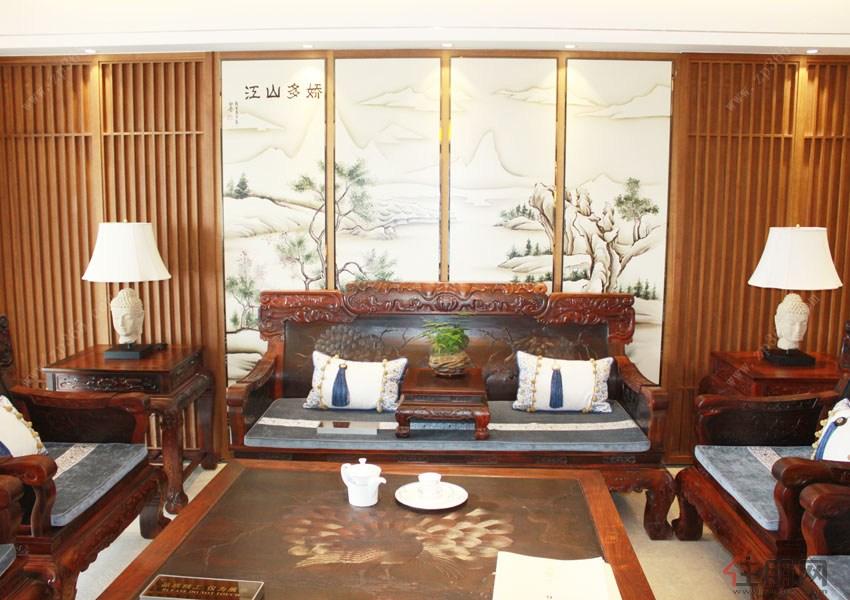 """盛天东郡---""""领空平墅""""首个红木样板间华丽绽放,造价350万元极致奢华"""