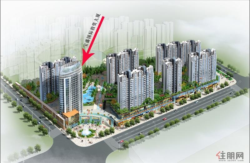 实探宝盛国际投资大厦:东盟CBD首席休闲商务写字楼