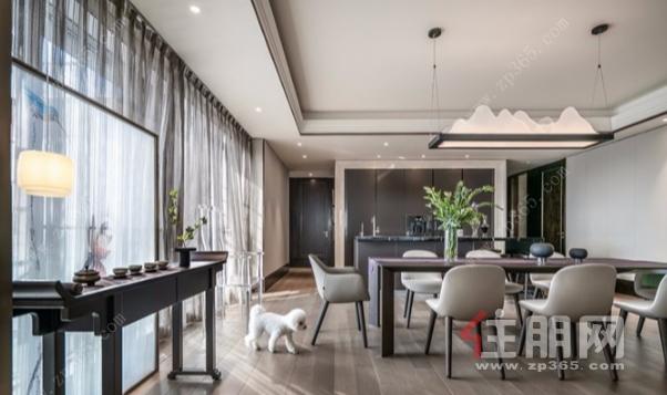 新天鹅堡私宅设计 绝美轻奢新中式
