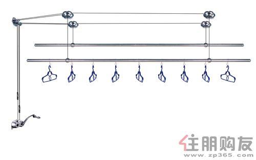 恋晴晾衣架lq-520a,纯不锈钢管
