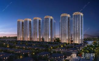 东站北毛坯八字头 别墅区高层 送超大阳台
