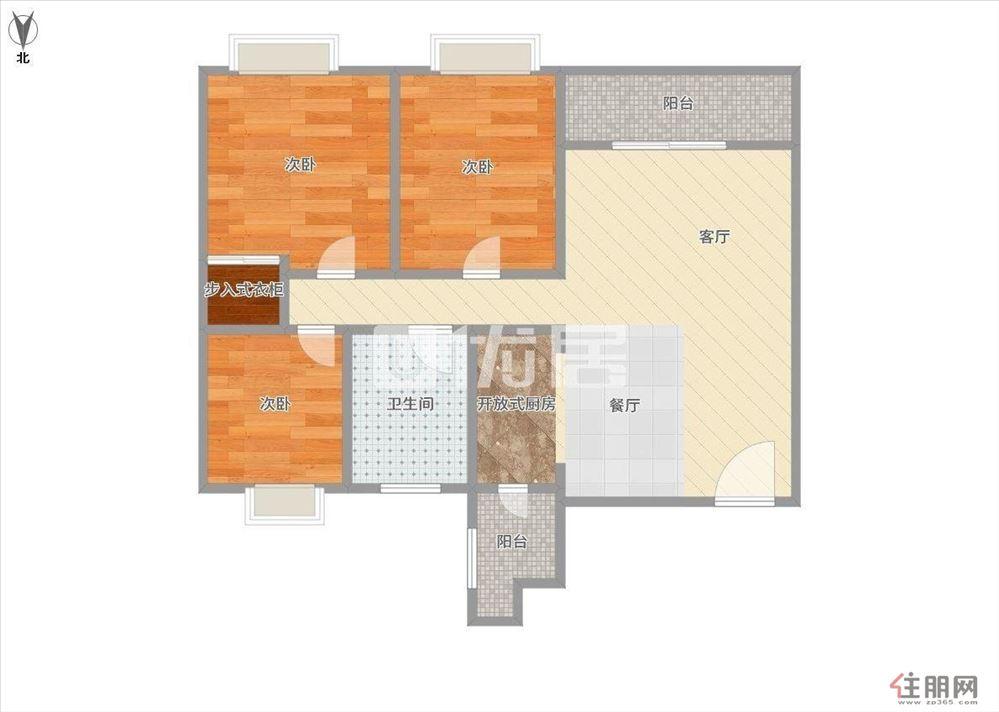 安吉萬達廣場花卉公園旁公務員小區電梯精裝3房 近地鐵口
