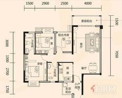 良庆区精装三房首付20万高层住宅