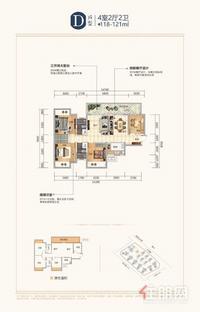 一线江景房,江滨公园,容积率底,高绿化