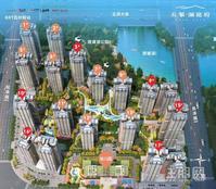 南宁五象核心区,南宁三中旁,双地铁,公园