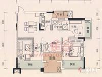 青秀区凤岭北荣和大地3房86平米165万